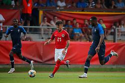 11.06.2019, Profertil Arena, Hartberg, AUT, Testspiel, U21, Oesterreich vs Frankreich, im Bild von links Fode Ballo Toure (FRA), Sascha Horvath (AUT) und Moussa Dembele (FRA) // from l to r Fode Ballo Toure (FRA) Sascha Horvath (AUT) and Moussa Dembele (FRA) during the International U21 Friendly Football Match between Austria and France at the Profertil Arena in Hartberg, Austria on 2019/06/11. EXPA Pictures © 2019, PhotoCredit: EXPA/ Erwin Scheriau