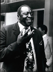 Feb. 02, 1978 - Amin Uganda: Field Marshal Idi Amin Dada, Life President of Uganda. Over threw the previous government in military coup on 25 January 1971.Photo shows here in Kampala Feb. 1978.Credit: Camerapix (Credit Image: © Keystone Press Agency/Keystone USA via ZUMAPRESS.com)