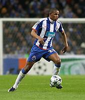 20090415: PORTO, PORTUGAL - FC Porto vs Manchester United: Champions League 2008/2009 – Quarter Finals – 2nd leg. In picture: Fernando . PHOTO: Manuel Azevedo/CITYFILES