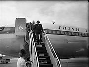 An Taoiseach Seán Lemass arrives home from London Talks..19.07.1961