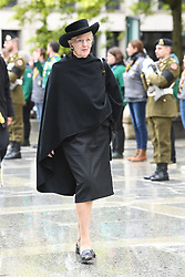 Queen Margrethe of Denmark at the funeral of Grand Duke Jean of Luxembourg at Cathedral Notre-Dame of Luxembourg in Luxembourg City, Luxembourg on May 4, 2019. Grand Duke Jean of Luxembourg has died at 98, April 23, 2019. Photo by David Niviere/ABACAPRESS.COM