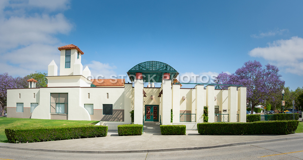 San Juan Capistrano Library and SJ Chamber front entrance