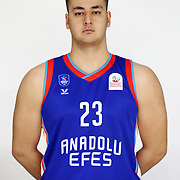 Anadolu Efes's Sevket Gokdemir during the 2020-2021 Garanti BBVA BGL Media Day at the Anadolu Efes Sports Hall on February 02, 2021 in İstanbul, Turkey. Photo by Aykut AKICI/TURKPIX