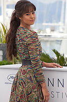 Actress Maria-Thelma Smáradóttir at the Arctic film photo call at the 71st Cannes Film Festival, Thursday 10th May 2018, Cannes, France. Photo credit: Doreen Kennedy