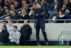 April 30, 2019 - London, England, United Kingdom - a thoughtful Tottenham Manager Mauricio Pochettino during the UEFA Champions League match between Tottenham Hotspur and Ajax Amsterdam at White Hart Lane, London on Tuesday 30th April 2019. (Credit Image: © Mi News/NurPhoto via ZUMA Press)