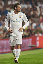 September 13, 2017 - Madrid, Spain - Mateo Kovacic (midfielder; Real Madrid) in action during the UEFA Champions League match between Real Madrid and Apoel FC at Santiago Bernabeu on September 13, 2017 in Madrid (Credit Image: © Jack Abuin via ZUMA Wire)