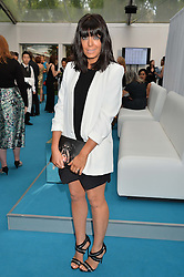 CLAUDIA WINKLEMAN at the Glamour Women of The Year Awards held in Berkeley Square, London on 2nd June 2015.