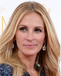 """File photos dated 25/04/14 of Julia Roberts, who has called her husband Danny Moder her """"favourite human"""" and """"the best decision"""" she ever made."""