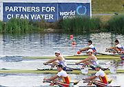 Eton. Great Britain.  competing at the Eton Rowing Centre 2011 FISA Junior  World Rowing Championships. Dorney Lake, Nr Windsor. Friday, 05/08/2011  [Mandatory credit: Peter Spurrier Intersport Images]