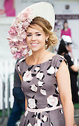 30/07/2015 report free : Winners Announced in Kilkenny Best Dressed Lady, Kilkenny Best Irish Design & Kilkenny Best Hat Competition at Galway Races Ladies Day <br /> <br /> Finalist was Lynda Hanratty, Armagh. Photo:Andrew Downes, xposure