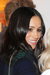 Meghan Markle during a visit to Social Bite in Edinburgh, during their visit to Scotland.