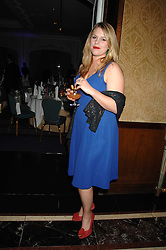 DAISY BUNN at a dinner to promote the Holders Season in Barbados held at The Four Seasons Hotel, Hamilton Place, London W1 on 30th January 2008.<br /> <br /> NON EXCLUSIVE - WORLD RIGHTS (EMBARGOED FOR PUBLICATION IN UK MAGAZINES UNTIL 1 MONTH AFTER CREATE DATE AND TIME) www.donfeatures.com  +44 (0) 7092 235465