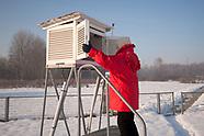 Pomiar tempertury powietrza w stacji meteo