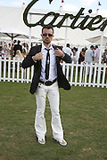 Evgeny Lebedev, Cartier International Polo. Guards Polo Club. Windsor Great Park. 30 July 2006. ONE TIME USE ONLY - DO NOT ARCHIVE  © Copyright Photograph by Dafydd Jones 66 Stockwell Park Rd. London SW9 0DA Tel 020 7733 0108 www.dafjones.com