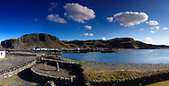 Easdale Island Village view to mainland.