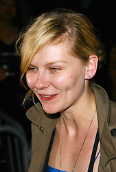 "Kirsten Dunst at the premiere of ""Hounddog"" in New York City."