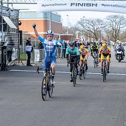 23-03-2019: Wielrennen: Drentse Dorpenomloop: Assen<br />-wielrennen - Assen - Drenthe - KNWU<br />Coen Vermeltvoort wint de Dorpenomloop voor Piotr Havik en Dion Beukeboom. Harthijs de Vries werd vierde