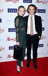 Sophie Simnett and Ross McCormack attend the Mum's List premiere at the Curzon Mayfair, London.