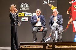 TALK SHOW CON ADRIANO GALLIANI WALTER SABATINI GIUSEPPE MAROTTA E MATTEO MARANI<br /> CALCIOMERCATO 2020 RIMINI<br /> RIMINI 01-09-2020<br /> FOTO FILIPPO RUBIN / MASTER GROUP SPORT
