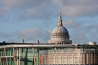 st pauls cathedral viewed from london bridge