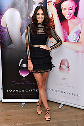 © Licensed to London News Pictures. 25/02/2016. British dancer DANIELLE PEAZER launches a collaboration perfume with Per-Scent, the Young and Gifted collection. London, UK. Photo credit: Ray Tang/LNP
