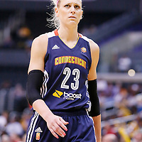 03 August 2014: Connecticut Sun guard/forward Katie Douglas (23) is seen during the Los Angeles Sparks 70-69 victory over the Connecticut Sun, at the Staples Center, Los Angeles, California, USA.