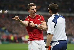 File photo dated 18-03-2017 of Wales' George North complains about an alleged bite during the game in the RBS 6 Nations match at the Stade de France, Paris.