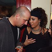 Harpengala 2003, idols, Hind Laroussie in gesprek met zanger Pascal Jakobsen, Blof