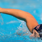 11/4/2016 - Orange Coast College's #7 Ariel Levi makes a play during the water polo match against Saddleback College in Mission Viejo, CA.<br /> <br /> ©2016 Jayme Spoolstra/Sports Shooter Academy
