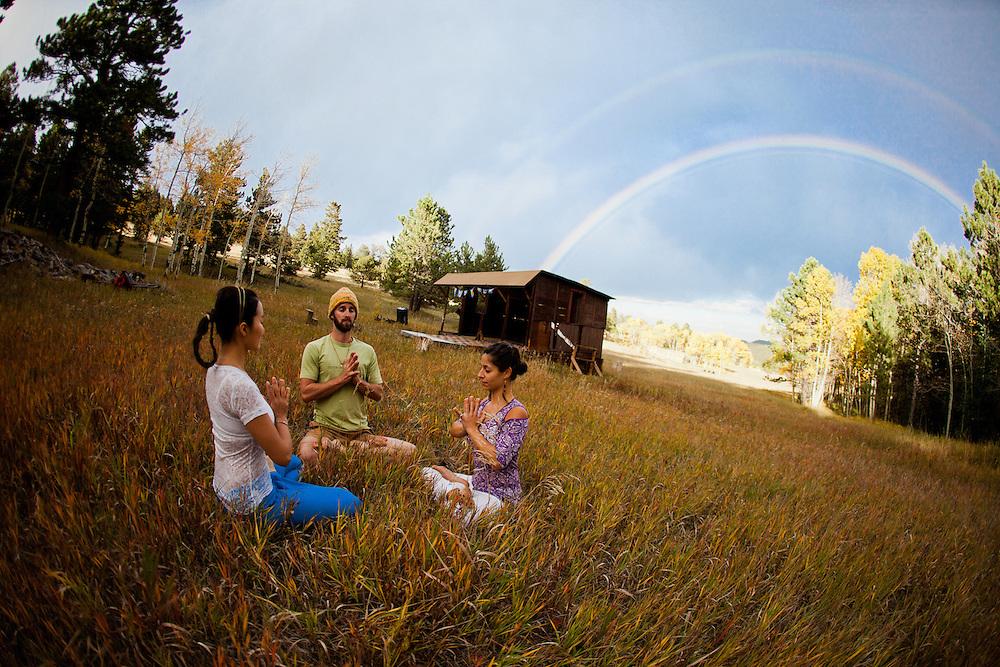 Alexandra Nikolova, Ryan Hamity & Minhee Cha at Gold Hill, COLORADO