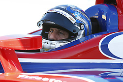 February 8, 2018 - Avondale, Arizona, United States of America - February 08, 2018 - Avondale, Arizona, USA: Tony Kanaan (14) sits in his car preparing to track for the Prix View at ISM Raceway in Avondale, Arizona. (Credit Image: © Justin R. Noe Asp Inc/ASP via ZUMA Wire)