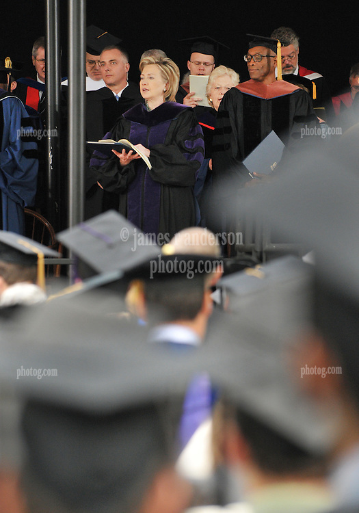 Former Secretary of State Hillary Rodham Clinton receives Honorary Doctorate of Law from Yale University | Commencement 2009. Credit Photography: James R Anderson