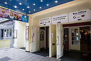 The entrance to the Theatre Royal Windsor is pictured on 13 October 2020 in Windsor, United Kingdom. The Theatre Royal Windsor reopens this evening for the first time since March with a production of A.R. Gurney's 'Love Letters' for a socially-distanced audience, having recently announced a winter schedule of productions to be performed in accordance with its coronavirus risk assessments and COVID-19 secure policy.
