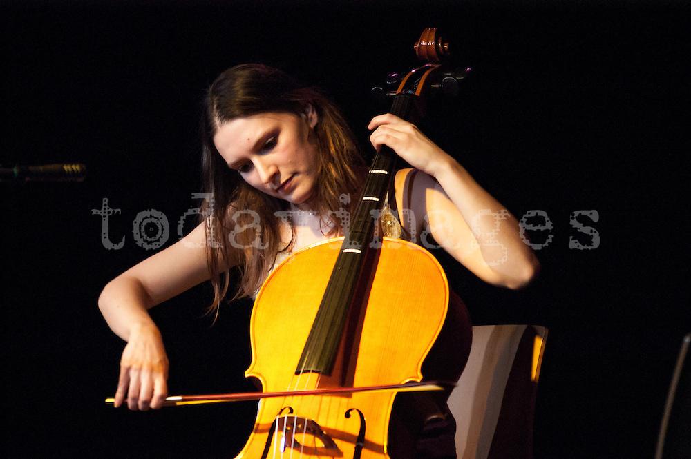 Colleen performing at La casa Encendida in Madrid 2006