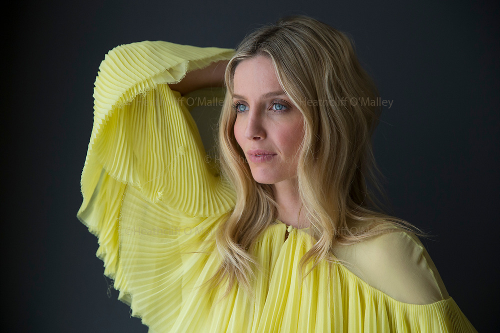May0077238 . Daily Telegraph<br /> <br /> DT news<br /> <br /> Actress Annabelle Wallis photographed in a London hotel . Ms Wallis who stars in the latest Hollywood incarnation of The Mummy alongside Tom Cruise .<br /> <br /> London 2 June 2017
