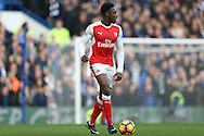 Danny Welbeck of Arsenal in action. Premier league match, Chelsea v Arsenal at Stamford Bridge in London on Saturday 4th February 2017.<br /> pic by John Patrick Fletcher, Andrew Orchard sports photography.