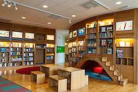 Inside Rum för Barn - a children's library.