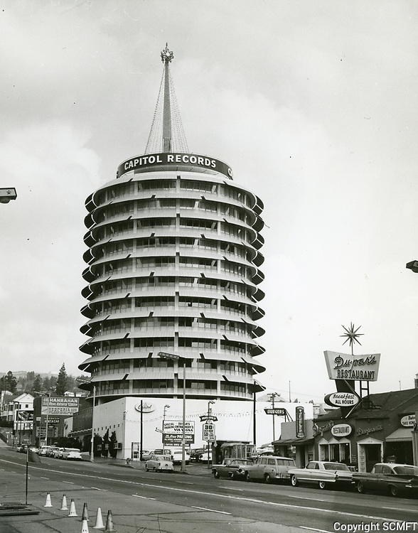 1959 Capitol Records Tower on Vine St.
