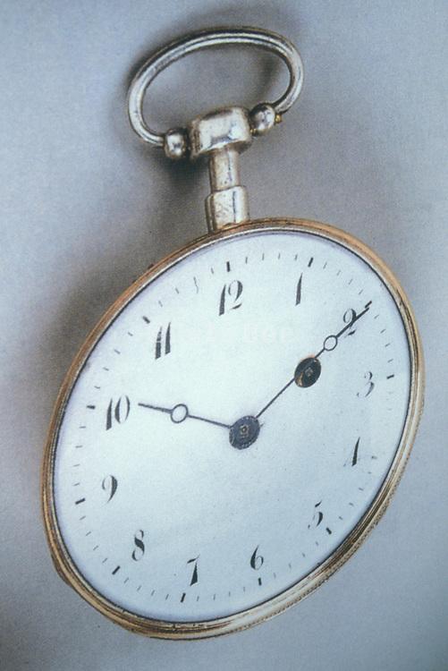 distorted pocket watch