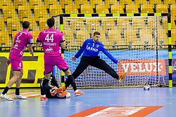Urban Lesjak of RK Celje Pivovarna Lasko during handball match between RK Celje Pivovarna Lasko and THW Kiel in Group Phase A+B of VELUX EHF Champions League, on November 19, 2017 in Arena Zlatorog, Celje, Slovenia. Photo by Ziga Zupan / Sportida