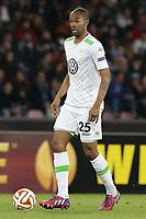 Ronaldo Aparecido Rodrigues Wolfsburg, <br /> Napoli 23-04-2015 Stadio San Paolo <br /> Football Calcio UEFA Europa League Quarter-finals, second len. Napoli - Wolfsburg.<br /> Foto Cesare Purini / Insidefoto