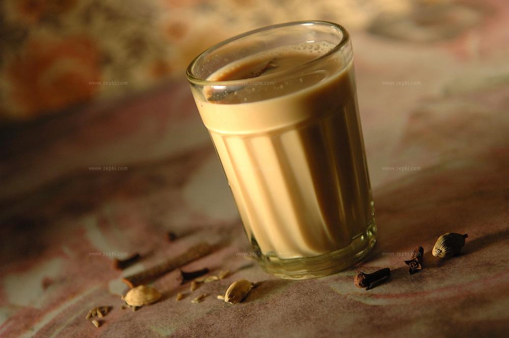 Masala chai - Indian masala tea .( Recipe available upon request )