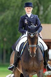 Melin Tove (SWE) - Dawson 5<br /> FEI European Dressage Championship Young Riders - Bern 2012<br /> © Hippo Foto - Leanjo de Koster