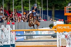 STAIS Alexa (RSA), QUINTATO<br /> Münster - Turnier der Sieger 2019<br /> BRINKHOFF'S NO. 1 -  Preis<br /> CSI4* - Int. Jumping competition  (1.50 m) -<br /> 1. Qualifikation Grosse Tour <br /> Large Tour<br /> 02. August 2019<br /> © www.sportfotos-lafrentz.de/Stefan Lafrentz
