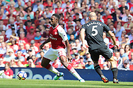 Arsenal forward Danny Welbeck (23) during the Premier League match between Arsenal and West Ham United at the Emirates Stadium, London, England on 22 April 2018. Picture by Bennett Dean.