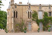 Chateau de Montpezat. Pezenas region. Languedoc. The main building. France. Europe.