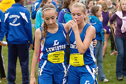 Festival of Champions Hruh School Cross Country meet, Courtney Allen, Taylor True, Lewiston