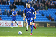 Callum Paterson of Cardiff City in action. EFL Skybet championship match, Cardiff city v Birmingham City at the Cardiff city stadium in Cardiff, South Wales on Saturday 10th March 2018.