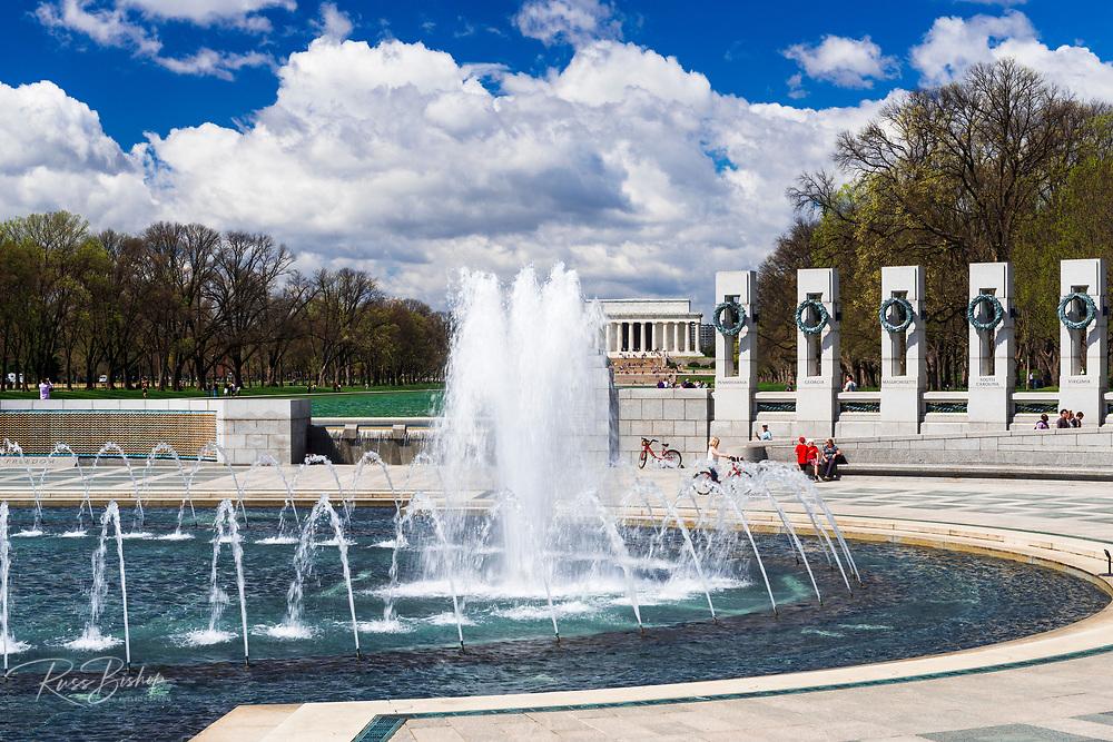 The World War II Memorial, Washington, DC USA