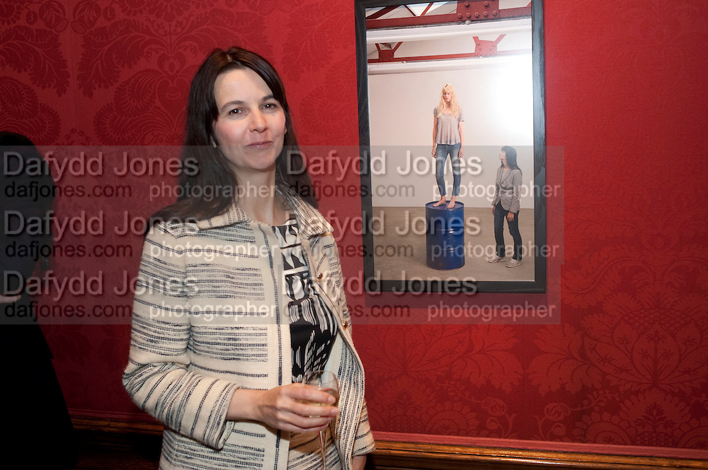 GILLIAN WEARING, Capturing Claudia. Interpretations of Claudia Schiffer by leading contemporary artists for Harpers Bazaar magazine. Colnaghis Gallery. Old Bond st. and afterwards at Locanda Locatelli's restaurant. Portman sq. London. 2 November 2009.